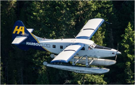 Getting to Saltspring Saturday Market by Harbour Air